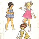 Butterick 3062 Girls Sundress Top Panties Vintage Sewing Pattern Sz 2