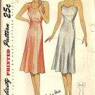 Simplicity 2154 Misses Full Slip 40s Vintage Sewing Pattern Bust 36 Uncut