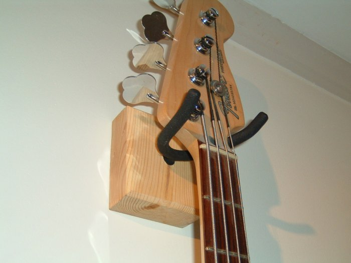 HEAVY DUTY GUITAR WALL MOUNT / HOOK CUSTOMIZABLE COLORS