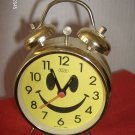 SMALL FUNNY FACE ALARM CLOCK