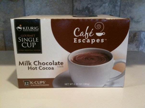 KEURIG Cafe Escapes Milk Chocolate Hot Cocoa 12 K-CUPS