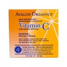 Avalon Organics, Vitamin C Renewal Facial Cream, 2 fl oz (56 ml)