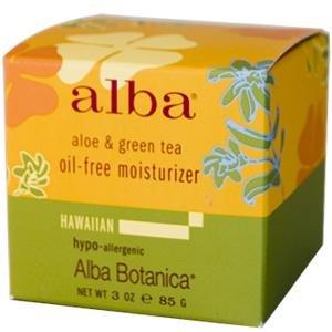 Alba Botanica, Aloe & Green Tea Oil-Free Moisturizer, 3 oz (85 g)