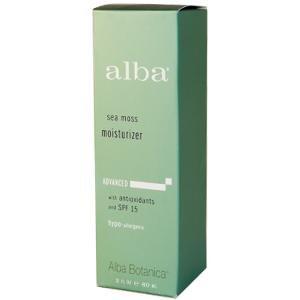 Alba Botanica, Sea Moss Moisturizer with Antioxidants and SPF 15, 2 fl oz (60 ml)