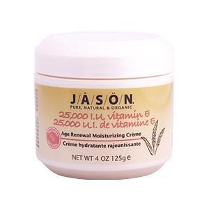 Jason Natural, 25,000 IU Vitamin E Age Renewal Moisturizing Creme, 4 oz (125 g)