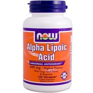 Now Foods, Alpha Lipoic Acid, 600 mg, 120 Vcaps