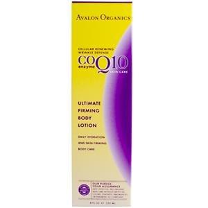 Avalon Organics, Co Enzyme Q10 Ultimate Firming Body Lotion, 8 fl oz (235 ml)