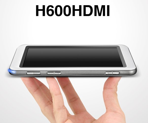 "5"" MP3 MP4 MP5 video Player Cube H600 AV Out HDMI 8GB"