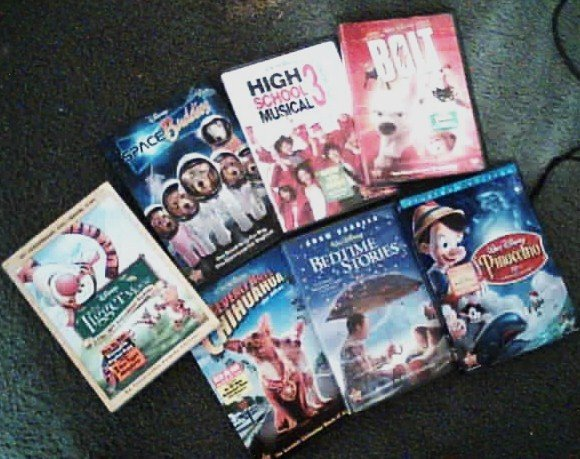 7 Disney Dvd's New and Sealed !