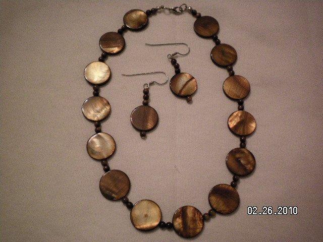 Brown Abalone Set