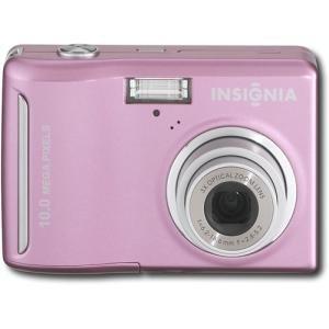 Insignia NS-DSC10A 10.0-Megapixel Digital Camera - Pink