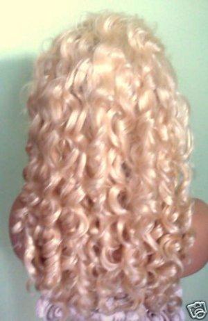 Gorgeous Lace Front Platinum Wig!!!