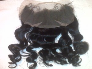 100% Indian Remy Lace Frontal (half wig)- Great Price!