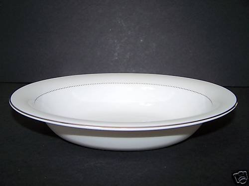 WEDGWOOD Vera Wang Love Knots Open Vegetable Bowl New