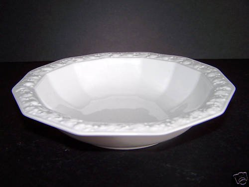 ROSENTHAL Maria White Cereal Bowls Set/6 New