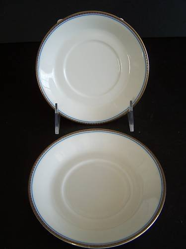 WATERFORD Marc Jacobs David Ocean Saucers Set/2 New