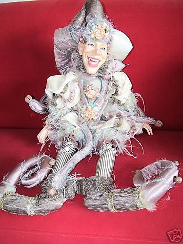 """Katherine's Collection Meteo Jester Doll 34"""" New"""