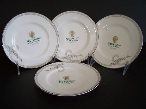 WATERFORD Ballet Jewel Bread & Butter Plates Set/4 New
