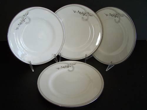 WATERFORD China Ballet Jewel Salad Plates Set/4 New
