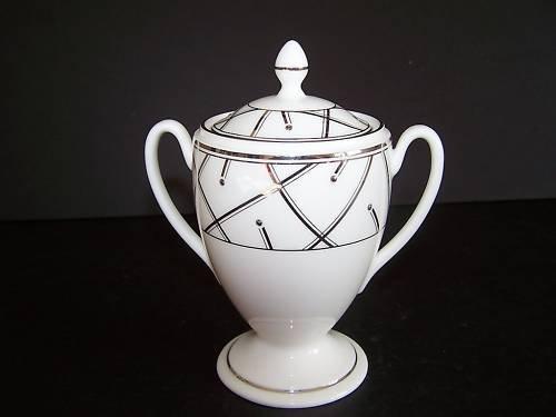 WATERFORD Fine China Merrill Sugar Bowl New