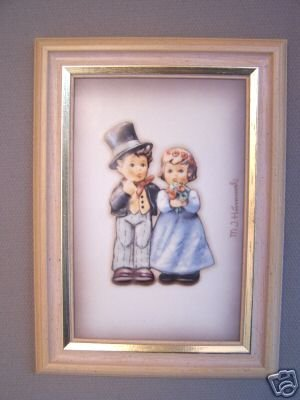 Hummel Goebel Wall Picture Frame Dearly Beloved NIB