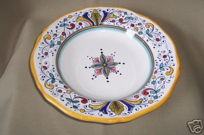 DERUTA Salad Plate Large Italy New