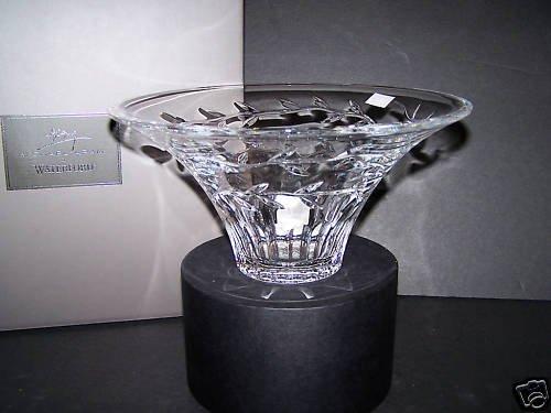 WATERFORD Crystal Michael Aram Garland Flared Bowl NIB