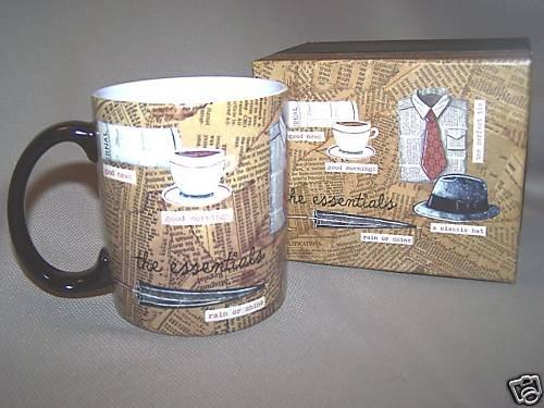 LANG Ceramic Mug The Essentials by Paula Joerling NIB
