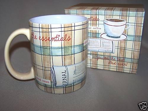 LANG Ceramic Mug Best Dad by Paula Joerling NIB