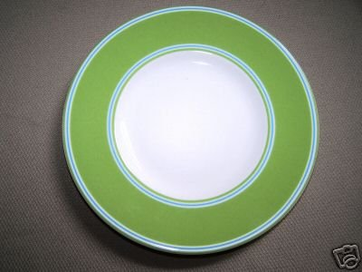 LENOX Cays Stripe Green Party Plate Kate Spade New