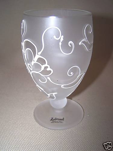 LABRAZEL Reverie Footed Tumbler Italy New