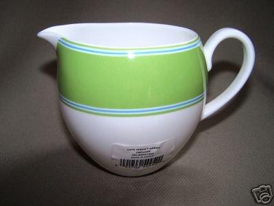 LENOX Cays Stripe Green Creamer Kate Spade Design New