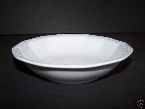 ROSENTHAL Maria White Rim Fruit/Dessert/Sauce Bowl New
