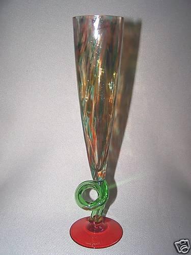 CARLO MORETTI Annual Flute 1997 Multicolored Signed New