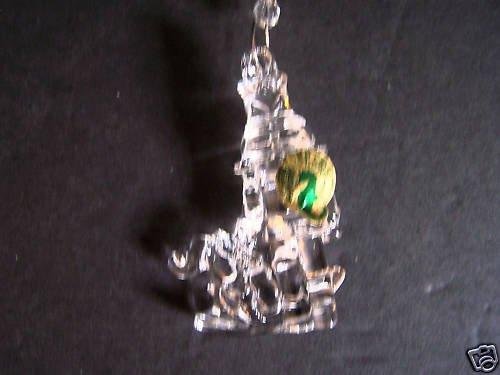 WATERFORD Crystal Christmas Nutcracker Ornament NIB