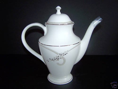 WATERFORD Fine China Ballet Jewel Beverage Pot  New