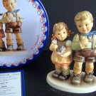 HUMMEL Goebel She Caught It! Figurine HUM 2265 NIB