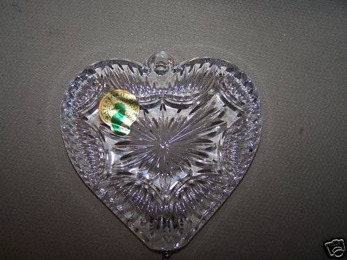 WATERFORD Crystal  12 days of Christmas Turtle Doves Ornament NIB