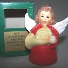 GOEBEL Annual Angel Bell 1982 Christmas Ornament Red MIB