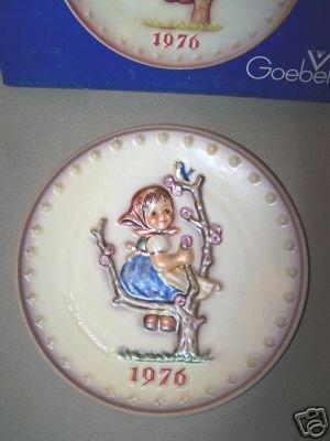 Hummel Goebel Spring Annual Plate 1976 MIB