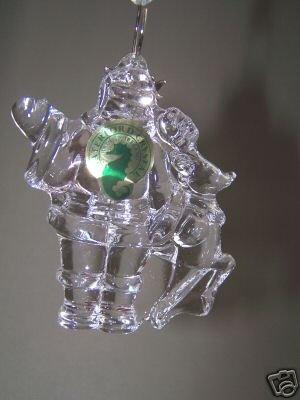 WATERFORD Crystal Christmas Ornament St. Nicholas 2006 NIB