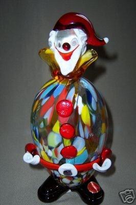 Murano Art Glass Clown Hand Made New