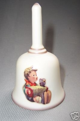 HUMMEL GOEBEL Christmas Bell  Let's Sing Motif 1978 Hum 860 Porcelain New
