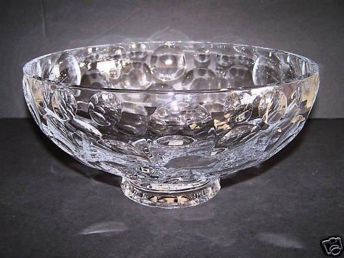 FABERGE Atelier Crystal Bubbles Centerpiece Bowl NIB