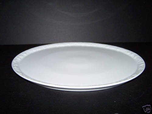 ROSENTHAL Maria White Round Serving Plate Torte Cake New