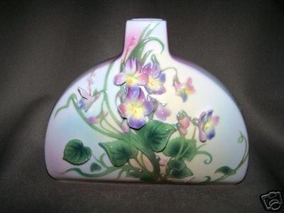 FRANZ Porcelain Violet Narrow Neck Design Vase New