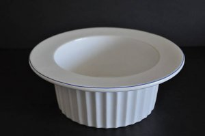 ROYAL DOULTON Terence Conran Chophouse Souffle Salad Bowl New