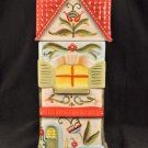 """FITZ and FLOYD Glenbrook Tall House 12.5"""" Canister New"""