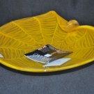 MURANO Art Glass Gold Platter Gambaro and Poggi New