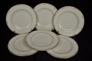 Royal Doulton Charms Salad Plates Set/6 Lhuillier New